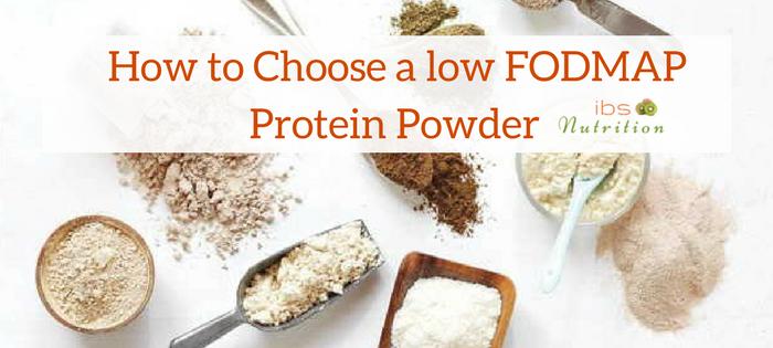 Low FODMAP protein powder